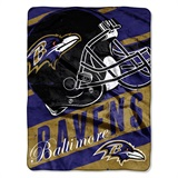 "Baltimore Ravens ""Deep Slant"" Micro Raschel Throw"