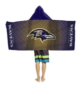 "Baltimore Ravens ""Dots"" Youth Hooded Towel"