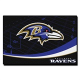 Baltimore Ravens Large Tufted Rug