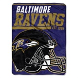 "Baltimore Ravens NFL ""40 yard Dash Micro Raschel Throw"