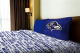 "Baltimore Ravens NFL ""Anthem"" Twin Sheet Set"