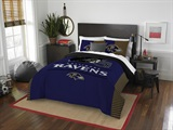 "Baltimore Ravens NFL ""Draft"" Full/Queen Comforter Set"