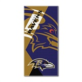 "Baltimore Ravens NFL ""Puzzle"" Beach Towel"
