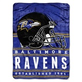 "Baltimore Ravens NFL ""Stacked"" Silk Touch Throw"