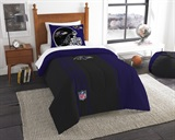 Baltimore Ravens NFL Twin Applique Comforter Set