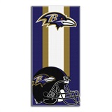 "Baltimore Ravens NFL ""Zone Read"" Beach Towel"