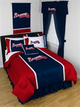 Atlanta Braves Sidelines Bed In A Bag