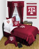 Texas A&M Aggies Locker Room Full Bed In A Bag