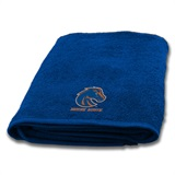 Boise State Broncos Applique Bath Towel