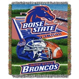 "Boise State Broncos ""Home Field Advantage"" Woven Tapestry Throw"