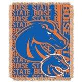 "Boise State Broncos NCAA ""Double Play"" Woven Jacquard Throw"