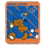 "Boise State Broncos NCAA ""Fullback"" Baby Woven Jacquard Throw"
