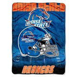 "Boise State Broncos NCAA ""Overtime"" Micro Raschel Throw"