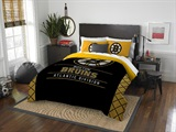 "Boston Bruins NHL ""Draft"" Full/Queen Comforter Set"