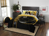 "Boston Bruins NHL ""Soft & Cozy"" Full Bed in a Bag"