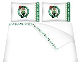 Boston Celtics Micro Fiber Sheet Set Queen