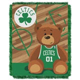 "Boston Celtics NBA ""Half-Court"" Baby Woven Jacquard Throw"