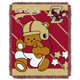 "Boston College ""Fullback"" Baby Woven Jacquard Throw"