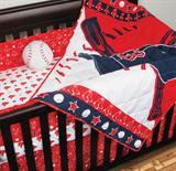 Boston Red Sox Micro Fiber Crib Set Standard