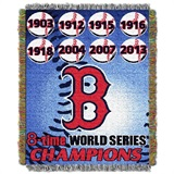 "Boston Red Sox MLB ""Commemorative Woven Tapestry Throw"