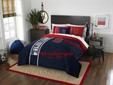 Boston Red Sox MLB Full Comforter and Sham Set