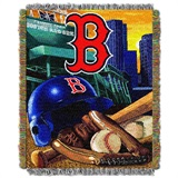 "Boston Red Sox MLB ""Home Field Advantage"" Woven Tapestry Throw"