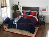 "Boston Red Sox MLB ""Soft & Cozy"" Full Comforter Set"