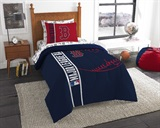 "Boston Red Sox MLB ""Soft & Cozy"" Twin Comforter Set"
