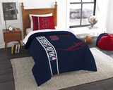Boston Red Sox MLB Twin Comforter and Sham set