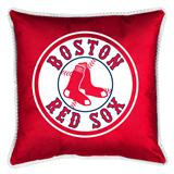 Boston Red Sox Sidelines Decorative Pillow 18 X 18