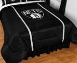 Brooklyn Nets Sidelines Comforter Twin