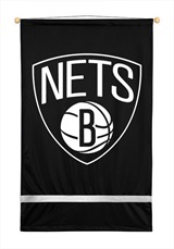 Brooklyn Nets Sidelines Wall Flag