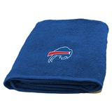 Buffalo Bills NFL Applique Bath Towel
