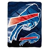 "Buffalo Bills NFL ""Bevel"" Micro Raschel Throw"