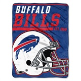 "Buffalo Bills NFL ""Deep Slant"" Micro Raschel Throw"