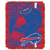 "Buffalo Bills NFL ""Double Play"" Woven Jacquard Throw"