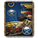 "Buffalo Sabres NHL ""Vintage"" Woven Tapestry Throw"