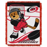 "Carolina Hurricanes NHL ""Score Baby""Baby Woven Jacquard Throw"