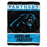 "Carolina Panthers NFL ""12th Man"" Raschel Throw"