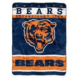 "Chicago Bears NFL ""12th Man"" Raschel Throw"