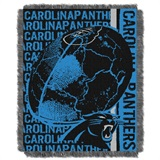 "Carolina Panthers NFL ""Double Play"" Woven Jacquard Throw"