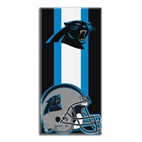 "Carolina Panthers NFL ""Zone Read"" Beach Towel"