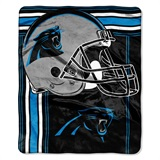 "Carolina Panthers ""Touchback"" Raschel Throw"