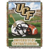 "Central Florida ""Home Field Advantage"" Woven Tapestry Throw"