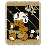 "Central Florida  Knights NCAA ""Fullback"" Baby Woven Jacquard Throw"