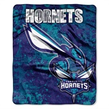 "Charlotte Hornets NBA ""Dropdown"" Raschel Throw"