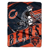 "Chicago Bears NFL ""Deep Slant"" Micro Raschel Throw"
