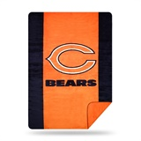 "Chicago Bears NFL ""Denali"" Sliver Knit Throw"