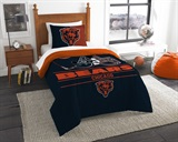 "Chicago Bears NFL ""Draft"" Twin Comforter Set"