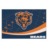 "Chicago Bears NFL ""Extra Point"" Large Tufted Rug"